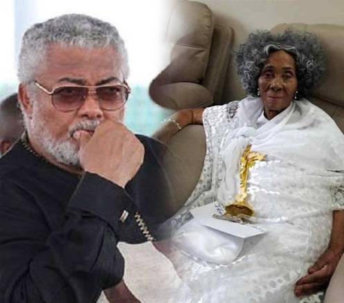 I cried like a baby when I lost my mother – Akufo-Addo consoles Rawlings