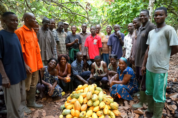 This is the best investments we have ever had– Cocoa Farmers to His Ex. Akufo-Addo