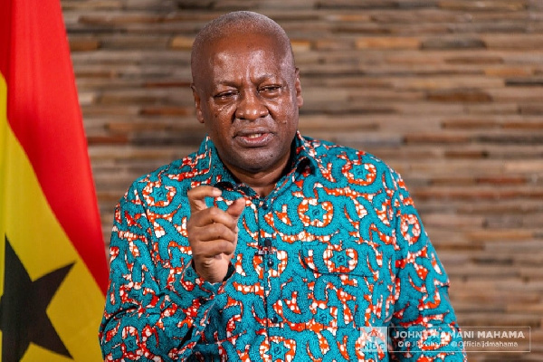 Blame Akufo-Addo for Insecurity in Ghana – Mahama